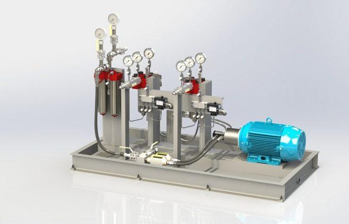 【日機装 DCS-100NX】カスケードポンプ(脱気ポンプ、加圧ポンプ)の分解方法【動画あり】